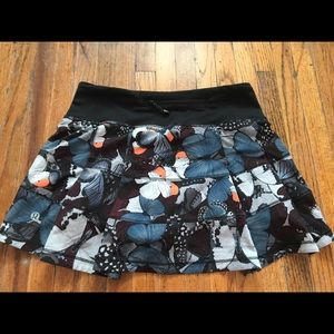 🦋 lululemon butterfly print tennis skirt 🦋